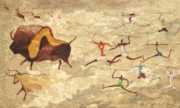 Cave Painting Running