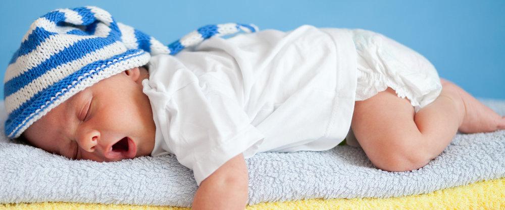 Baby Sleep Yawn